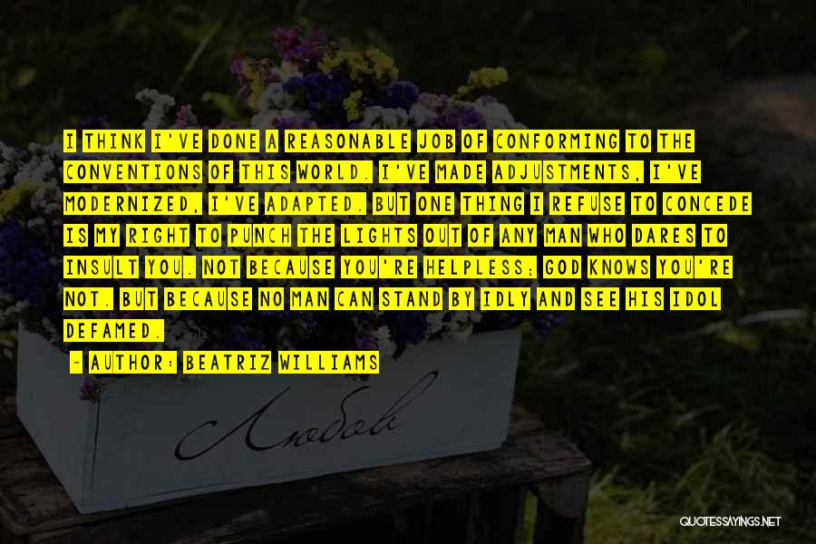 Reasonable Man Quotes By Beatriz Williams