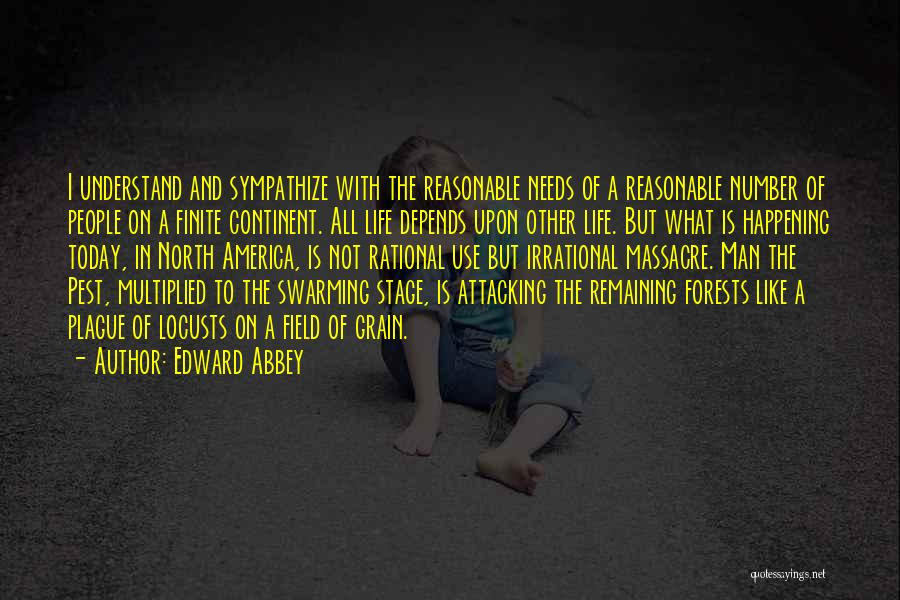 Reasonable Man Quotes By Edward Abbey