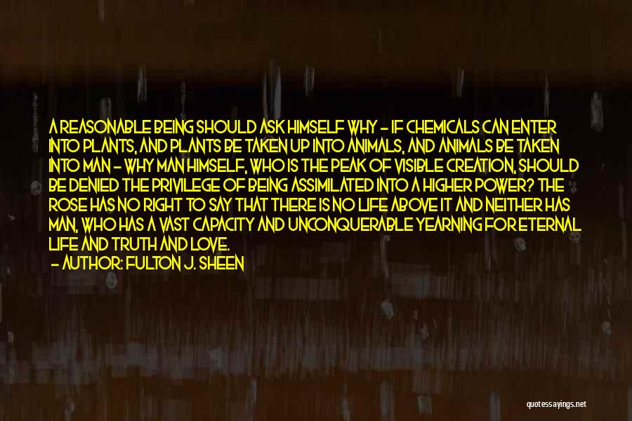 Reasonable Man Quotes By Fulton J. Sheen