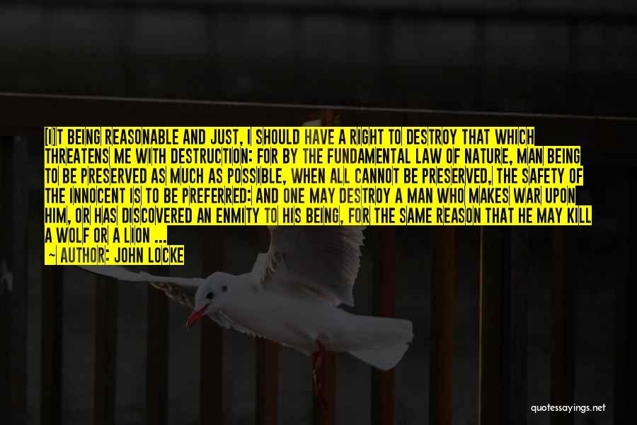Reasonable Man Quotes By John Locke