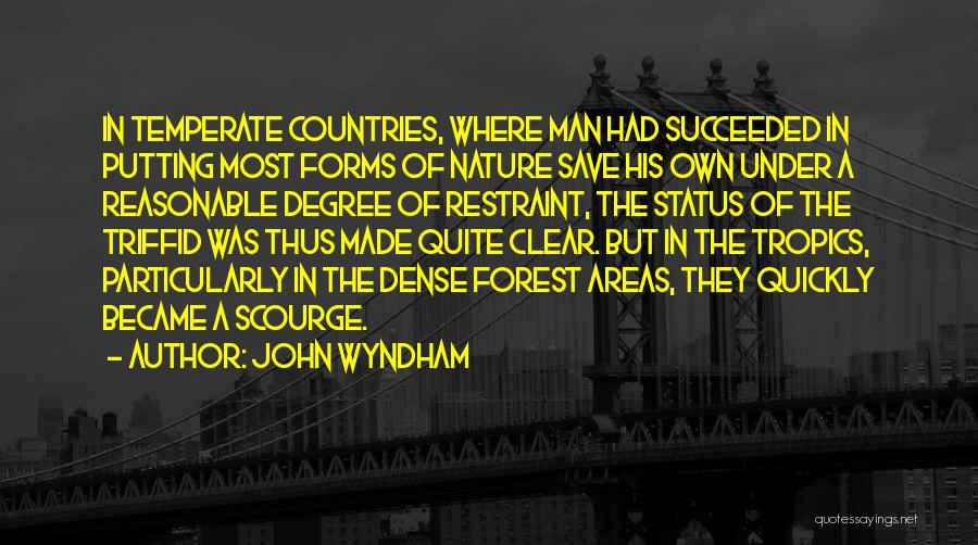 Reasonable Man Quotes By John Wyndham