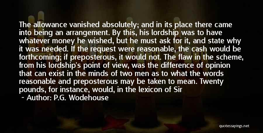 Reasonable Man Quotes By P.G. Wodehouse