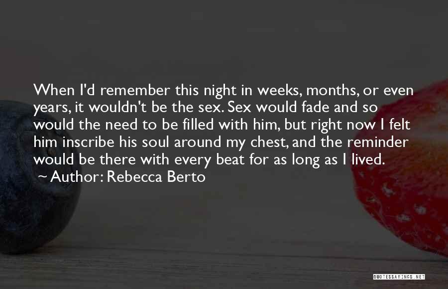 Rebecca Berto Quotes 1207367
