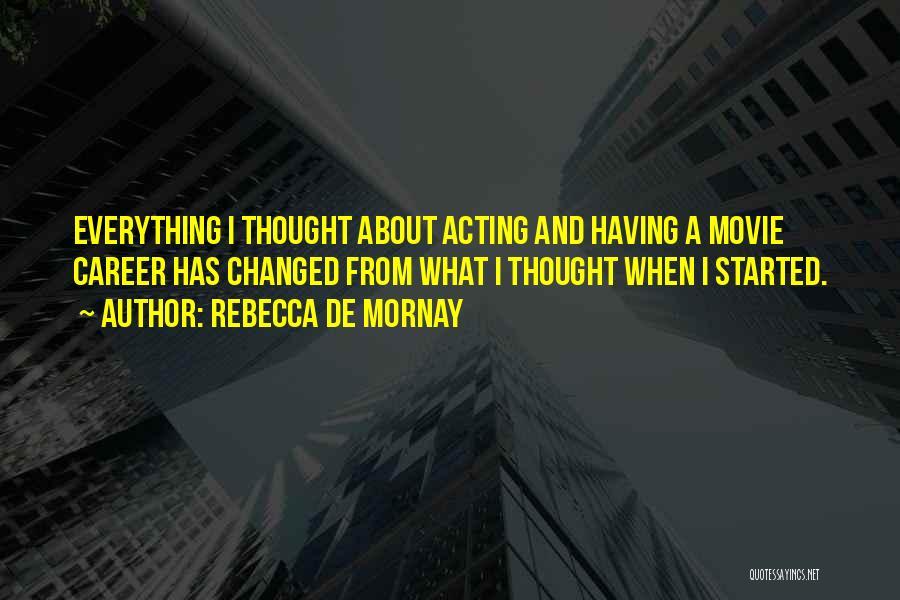 Rebecca De Mornay Quotes 246056