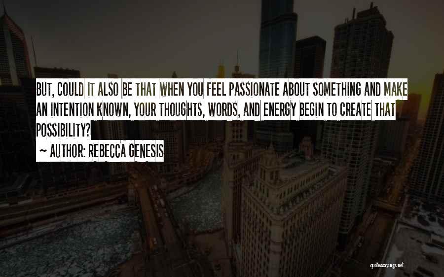 REBECCA GENESIS Quotes 1035094