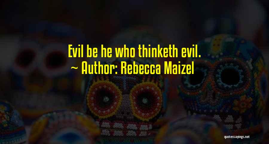 Rebecca Maizel Quotes 1556543