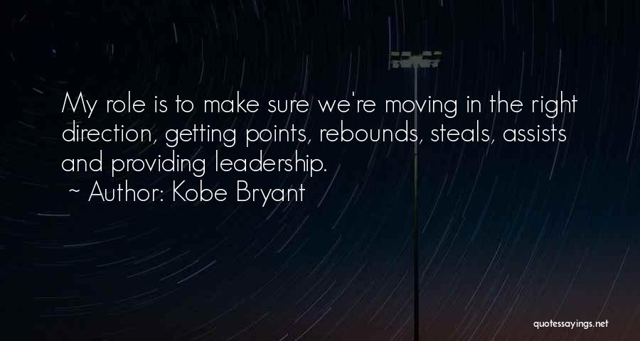Rebounds Quotes By Kobe Bryant
