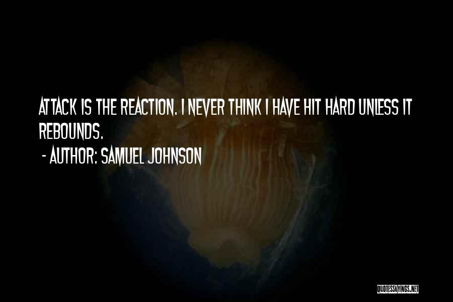 Rebounds Quotes By Samuel Johnson