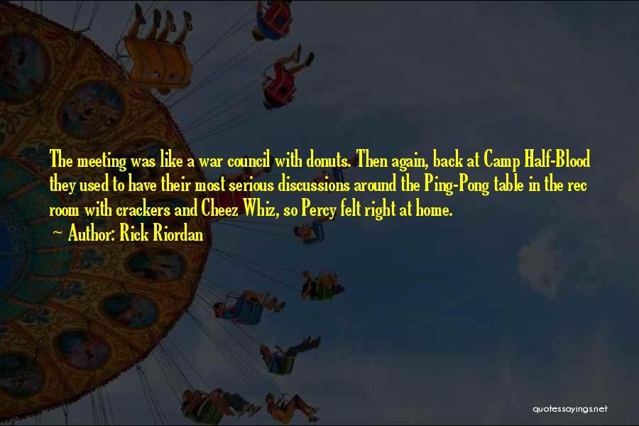 Rec Room Quotes By Rick Riordan