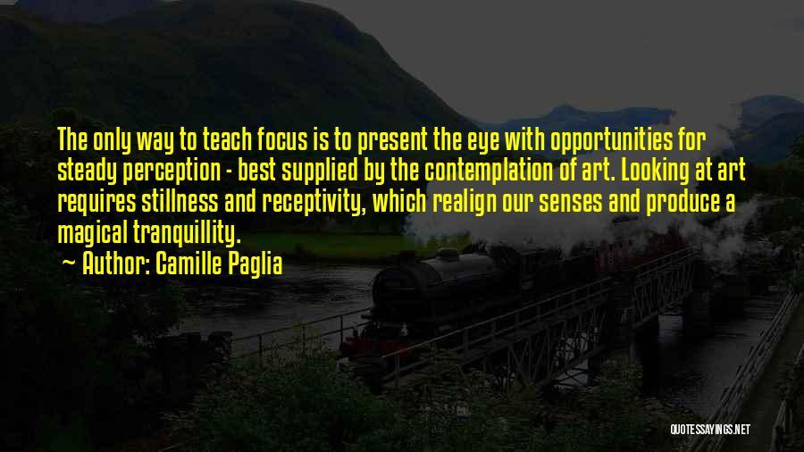 Receptivity Quotes By Camille Paglia
