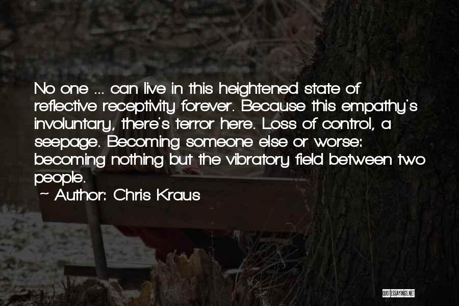 Receptivity Quotes By Chris Kraus