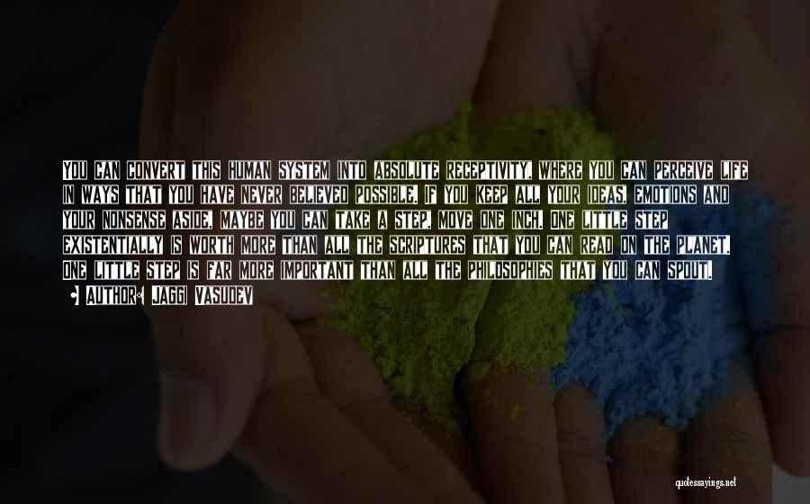 Receptivity Quotes By Jaggi Vasudev