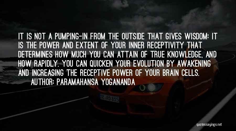 Receptivity Quotes By Paramahansa Yogananda