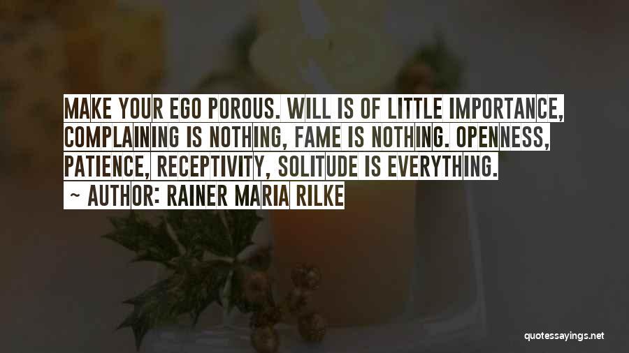 Receptivity Quotes By Rainer Maria Rilke