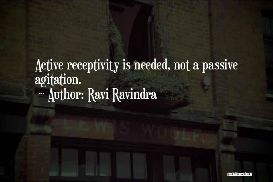 Receptivity Quotes By Ravi Ravindra
