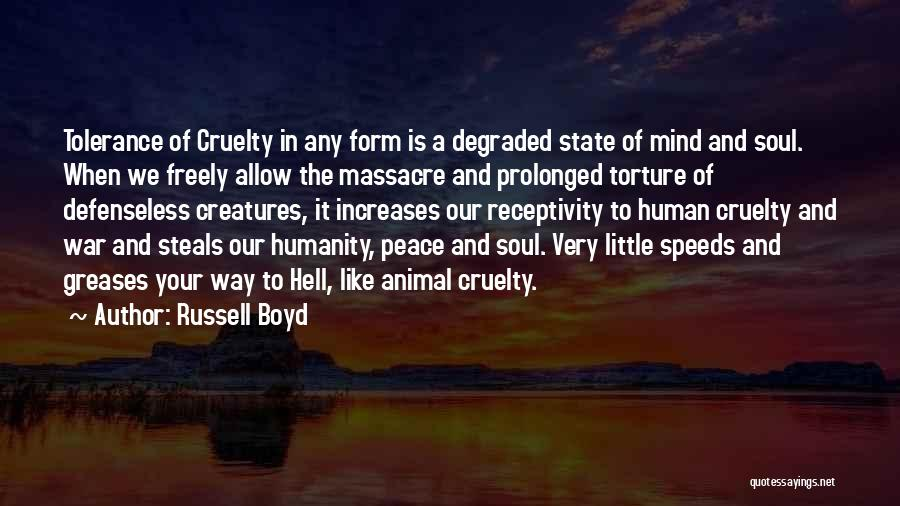 Receptivity Quotes By Russell Boyd