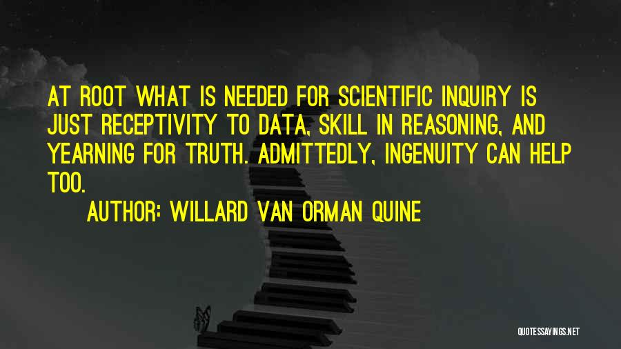 Receptivity Quotes By Willard Van Orman Quine