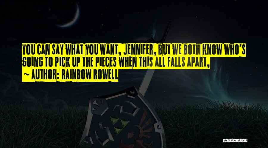 Reclaiming The Sky Quotes By Rainbow Rowell