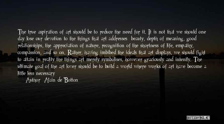 Recognition Day Quotes By Alain De Botton