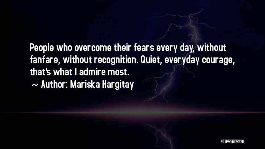 Recognition Day Quotes By Mariska Hargitay