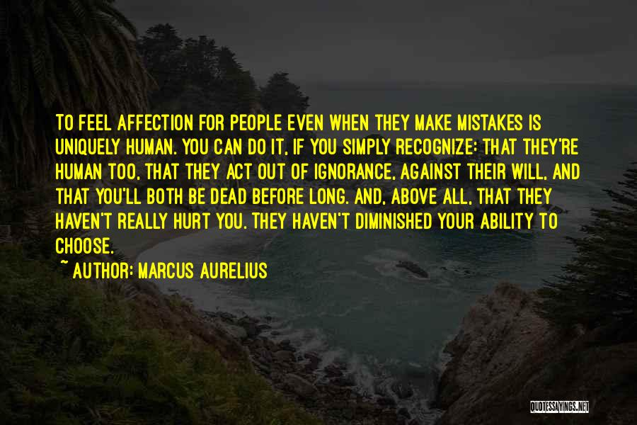 Recognize Mistakes Quotes By Marcus Aurelius