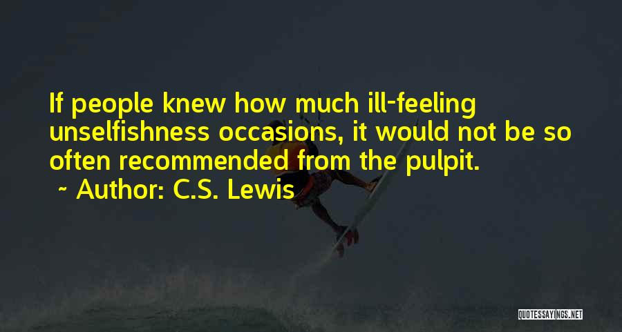Recommended Quotes By C.S. Lewis