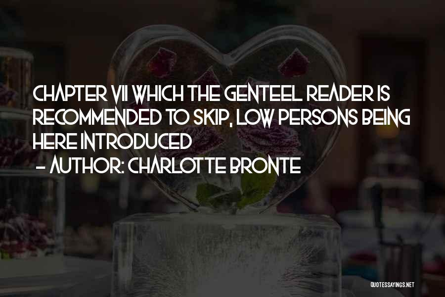 Recommended Quotes By Charlotte Bronte