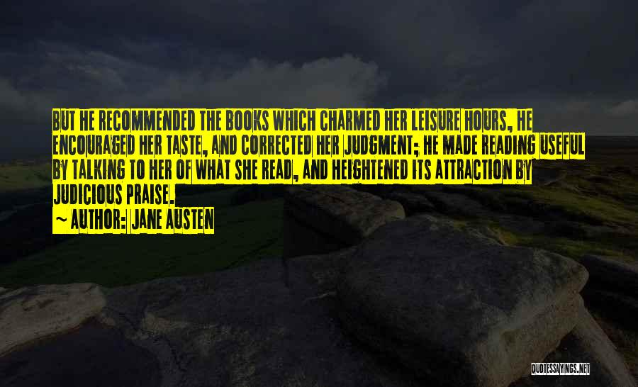 Recommended Quotes By Jane Austen
