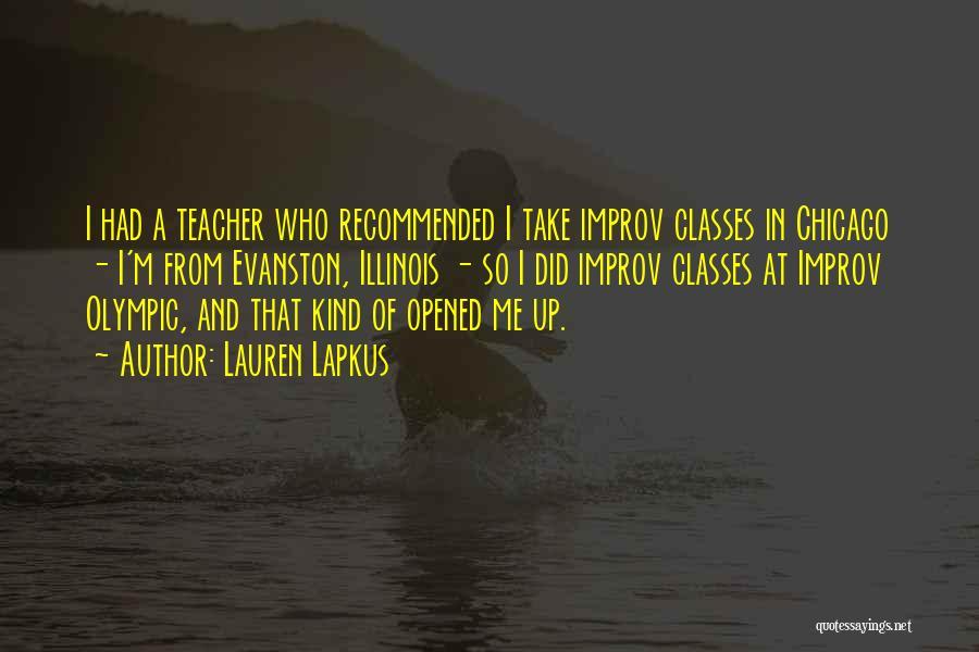 Recommended Quotes By Lauren Lapkus
