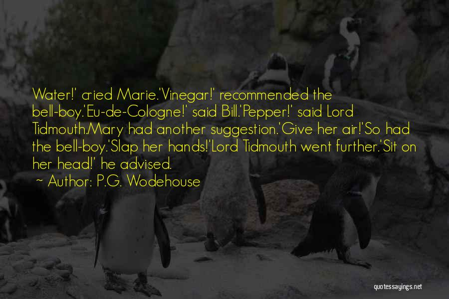 Recommended Quotes By P.G. Wodehouse