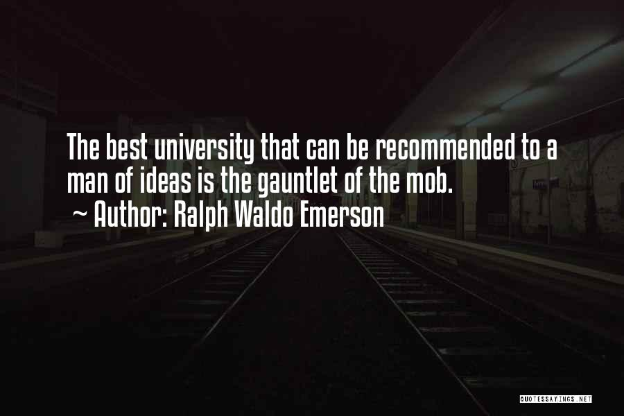 Recommended Quotes By Ralph Waldo Emerson
