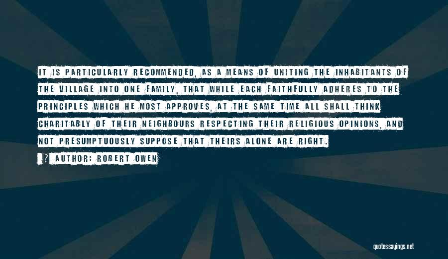 Recommended Quotes By Robert Owen