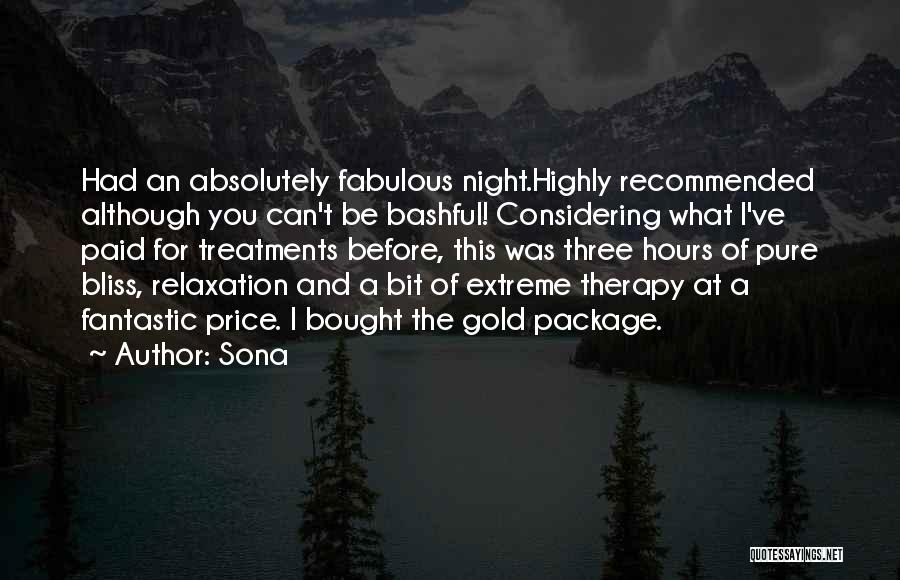 Recommended Quotes By Sona