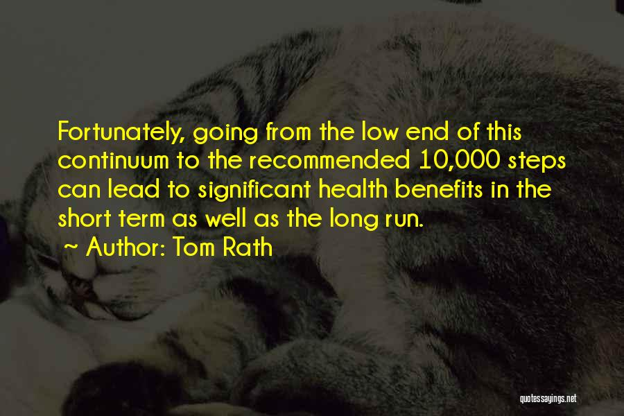 Recommended Quotes By Tom Rath
