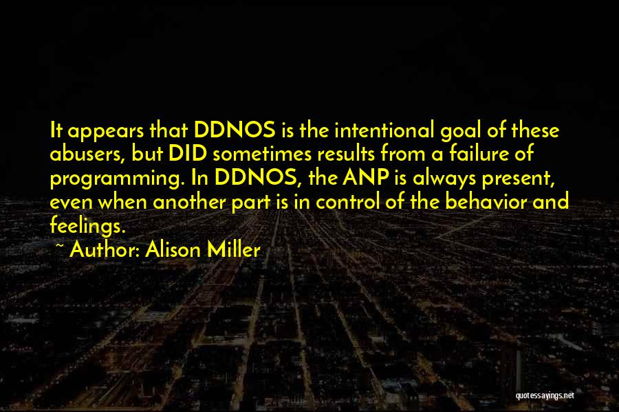 Recovery And Healing Quotes By Alison Miller