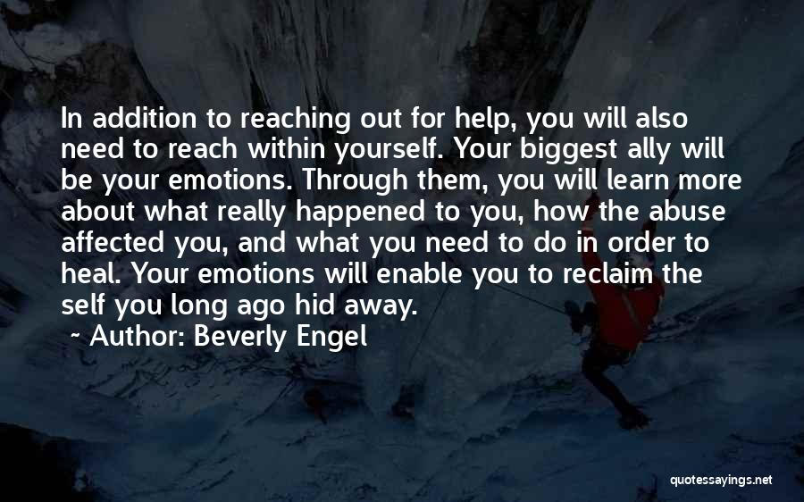 Recovery And Healing Quotes By Beverly Engel