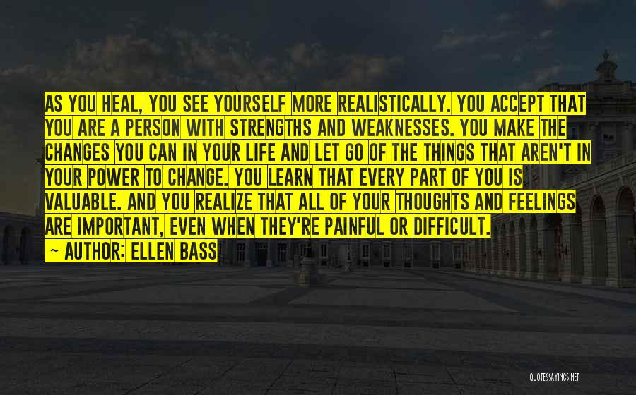 Recovery And Healing Quotes By Ellen Bass