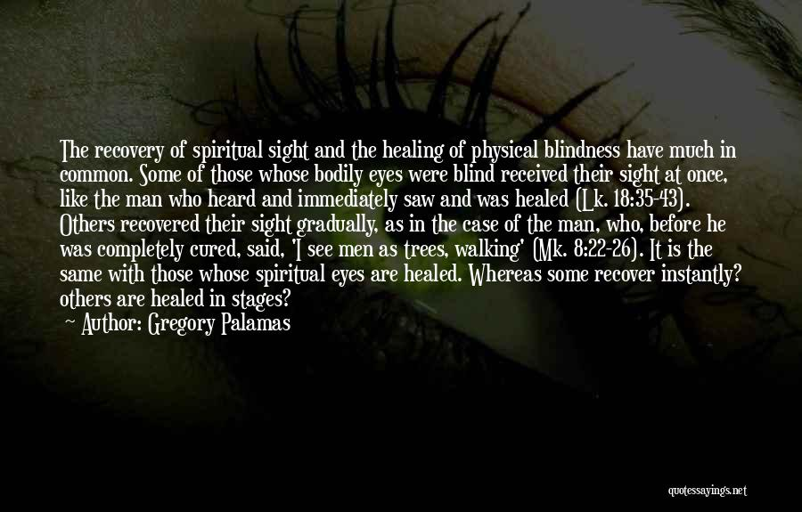 Recovery And Healing Quotes By Gregory Palamas