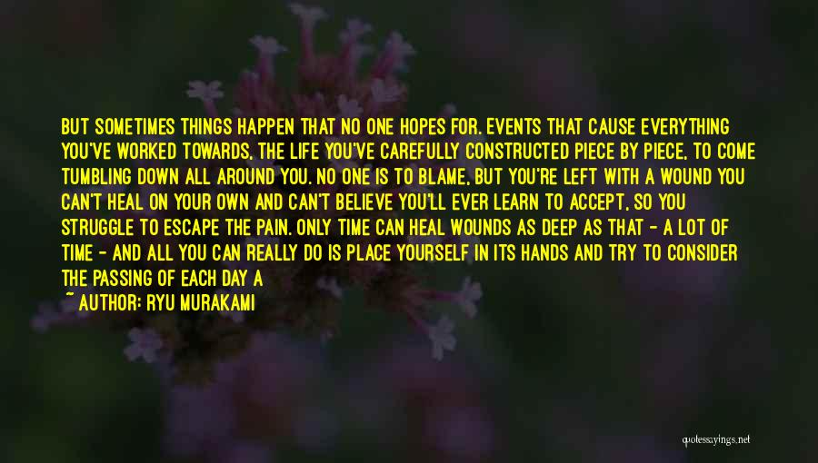 Recovery And Healing Quotes By Ryu Murakami