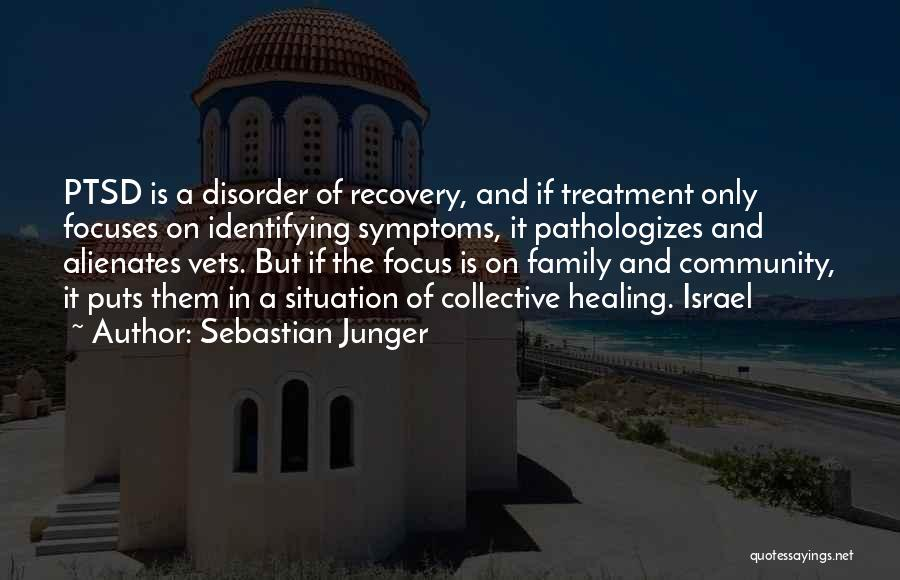 Recovery And Healing Quotes By Sebastian Junger