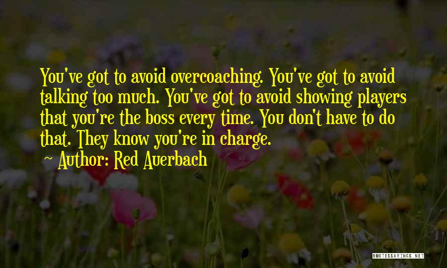 Red Auerbach Quotes 1597519