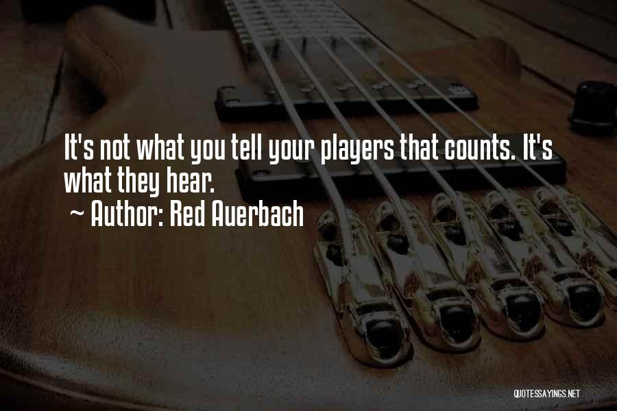 Red Auerbach Quotes 2192974