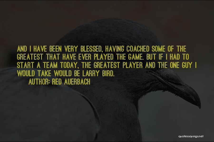 Red Auerbach Quotes 268615