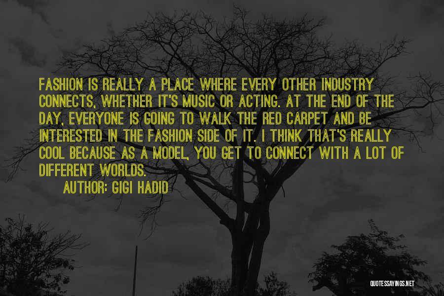 Red Carpet Fashion Quotes By Gigi Hadid