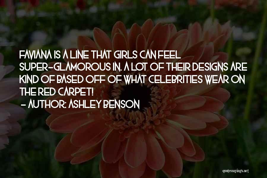 Red Carpet Quotes By Ashley Benson