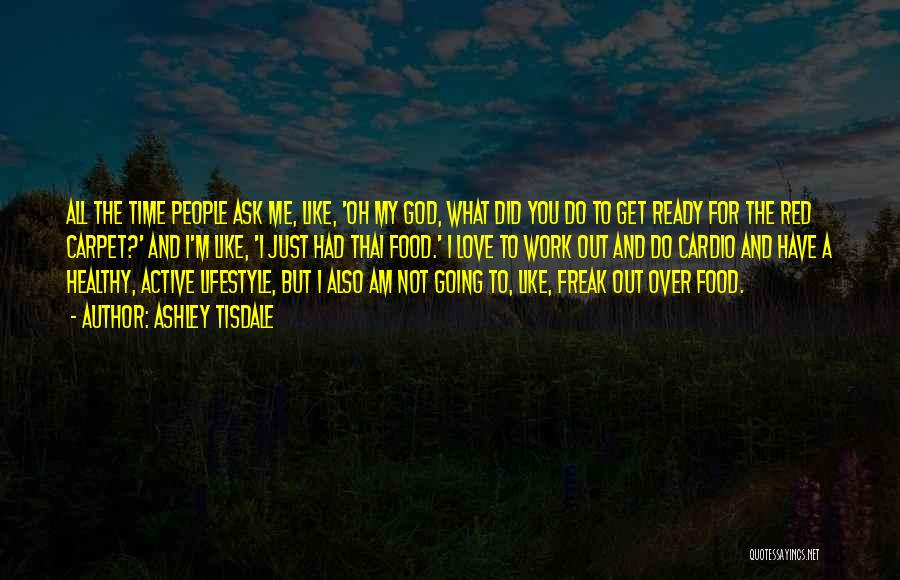 Red Carpet Quotes By Ashley Tisdale
