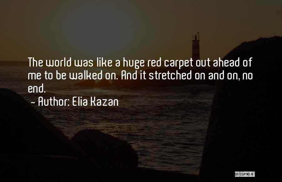 Red Carpet Quotes By Elia Kazan