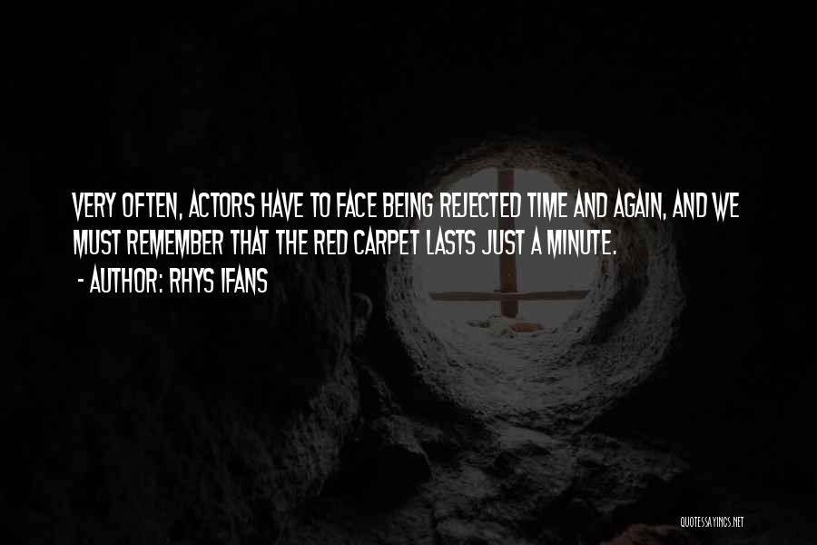 Red Carpet Quotes By Rhys Ifans