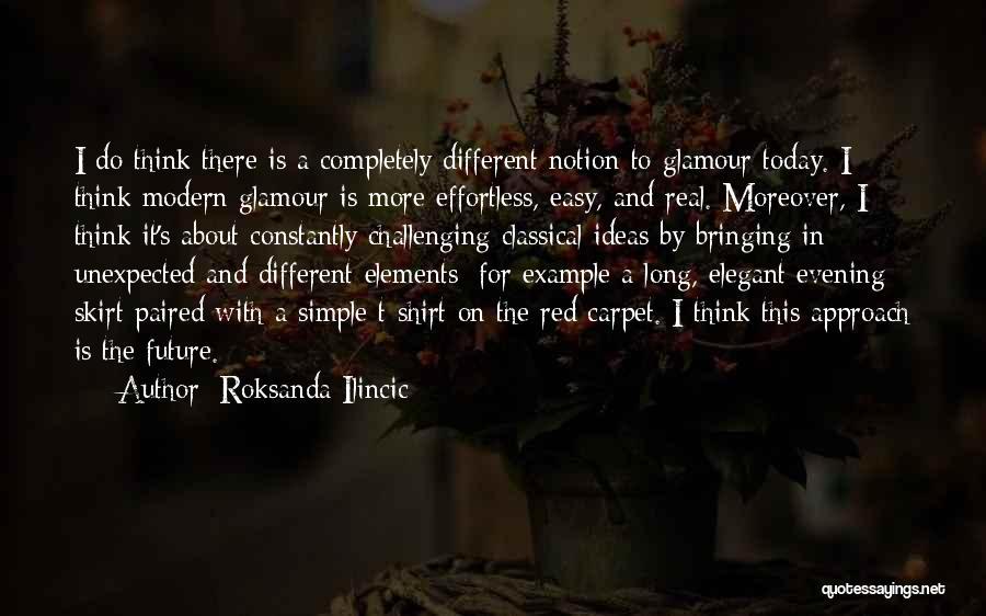 Red Carpet Quotes By Roksanda Ilincic