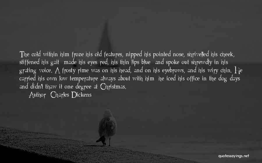 Red Lips Quotes By Charles Dickens